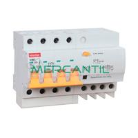 Magnetotermico y Diferencial 4P 6A SGBLE Industrial-Terciario RETELEC