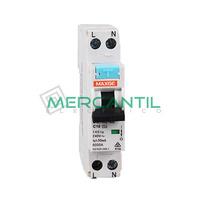 Magnetotermico y Diferencial Estrecho 2P 10A 30mA A SGNL Industrial-Terciario RETELEC