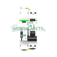 Magnetotermico y Diferencial Rearmable 2P 32A RETELEC