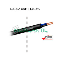 Manguera Flexible 2x6mm 600/1000V RV-K CPR - Por Metros