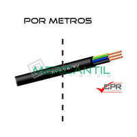 Manguera Flexible 3x4mm 600/1000V RV-K CPR - Por Metros