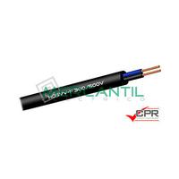 Manguera Flexible Blanca H05VV-F 300-500 2x1mm - 100 Metros