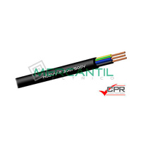 Manguera Flexible Blanca H05VV-F 300-500 3x1.5mm - 100 Metros