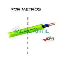 Manguera Flexible Libre de Halogenos 2x6mm 600/1000V CPR RZ1-K - Por Metro