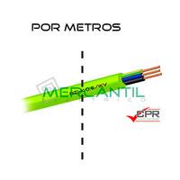 Manguera Flexible Libre de Halogenos 3x6mm 600/1000V CPR RZ1-K - Por Metros
