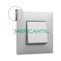 Marco Embellecedor 1 Elemento Base Aluminio Valena Next LEGRAND - Color Fume