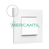 Marco Embellecedor 1 Elemento Base Blanca Valena Next LEGRAND - Color Cromo
