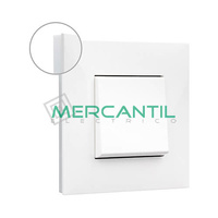 Marco Embellecedor 1 Elemento Base Blanca Valena Next LEGRAND - Color Opal