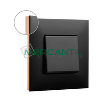 Marco Embellecedor 1 Elemento Base Dark Valena Next LEGRAND - Color Cobre