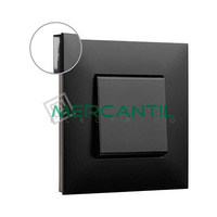 Marco Embellecedor 1 Elemento Base Dark Valena Next LEGRAND - Color Fume