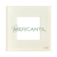 Marco Embellecedor 1 Elemento Zenit NIESSEN - Color Cristal Blanco