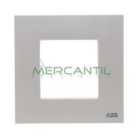 Marco Embellecedor 1 Elemento Zenit NIESSEN - Color Plata
