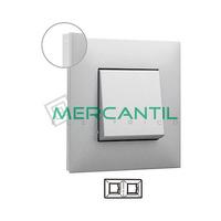 Marco Embellecedor 2 Elementos Base Aluminio Valena Next LEGRAND - Color Cromo