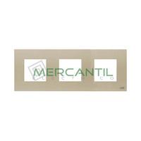 Marco Embellecedor 3 Elementos Zenit NIESSEN - Color Cava