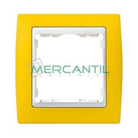 Marco Embellecedor Color SIMON 82 - Color Amarillo