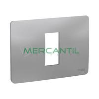 Marco Embellecedor Italiano New Unica SCHNEIDER ELECTRIC - Color Aluminio