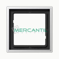 Marco Embellecedor LS990 JUNG - Color Aluminio