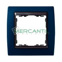 Marco Embellecedor Metal Color SIMON 82 - Color Azul Metalizado