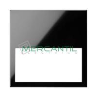 Marco Embellecedor Minimo 1 Elemento SIMON 100 - Color Negro mate