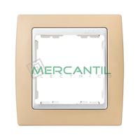 Marco Embellecedor Pastel SIMON 82 - Color Crema