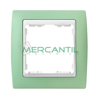 Marco Embellecedor Pastel SIMON 82 - Color Verde