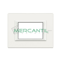 Marco Embellecedor Rectangular Axolute BTICINO - Color Blanco AXOLUTE