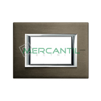 Marco Embellecedor Rectangular Axolute BTICINO - Color Bronce