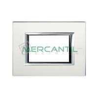 Marco Embellecedor Rectangular Axolute BTICINO - Color Cristal Espejo