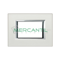 Marco Embellecedor Rectangular Axolute BTICINO - Color Plata