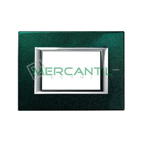 Marco Embellecedor Rectangular Axolute BTICINO - Color Verde Sevres