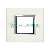 Marco Embellecedor Universal Axolute BTICINO - Color Blanco Limoges