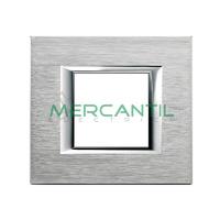 Marco Embellecedor Universal Axolute BTICINO - Color Cromo