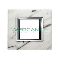 Marco Embellecedor Universal Axolute BTICINO - Color Marmol de Carrara