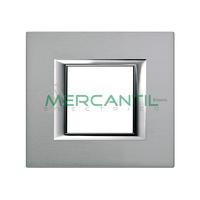Marco Embellecedor Universal Axolute BTICINO - Color Mercurio