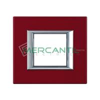 Marco Embellecedor Universal Axolute BTICINO - Color Rojo China