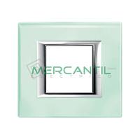 Marco Embellecedor Universal Axolute BTICINO - Color Vidrio Kristall