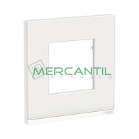 Marco Embellecedor Universal Pure New Unica SCHNEIDER ELECTRIC - Color Cristal Blanco