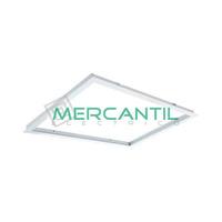 Marco de Empotrar para Panel LED 60x30 Aluminio LEDME