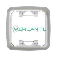 Marcos para Caja Universal Termoestable  SIMON 31 - Color Aluminio