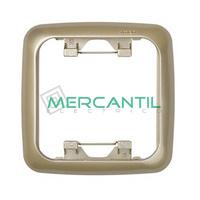 Marcos para Caja Universal Termoestable  SIMON 31 - Color Cava