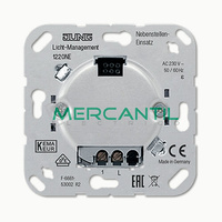 Mecanismo Auxiliar para Mecanismos con Tecla Sensora LS990 JUNG