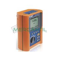 Medidor de Resistencia de Conductores Equipotencial de Uso Medico e Impedancia de Linea EQUITEST HT5071 HT INSTRUMENTS