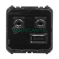 Modulo Entrada/Salida USB y Bluetooth 2 Modulos Zenit NIESSEN