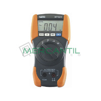 Multimetro Digital de 3 1/2 Digitos CAT IV HT321 HT INSTRUMENTS