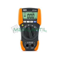 Multimetro Digital de 3 1/2 Digitos CAT IV HT322 HT INSTRUMENTS