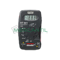 Multimetro Digital de Bolsillo HT601 HT INSTRUMENTS