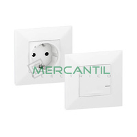 Pack Preconfigurado Base de Corriente Netatmo Valena Next LEGRAND - Color Blanco