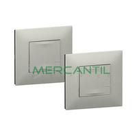 Pack Preconfigurado Encendido Conmutado Netatmo Valena Next LEGRAND - Color Aluminio
