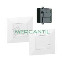 Pack Preconfigurado Encendido Conmutado con Micromodulo Netatmo Valena Next LEGRAND - Color Blanco