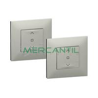 Pack Preconfigurado Persiana Centralizada Netatmo Valena Next LEGRAND - Color Aluminio